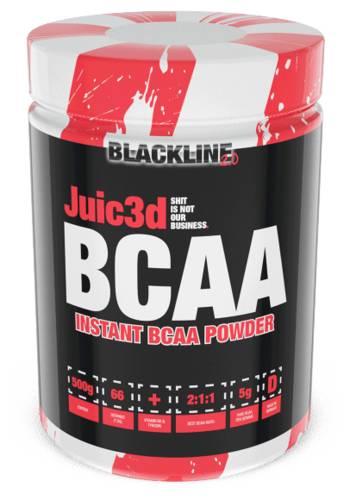 Juic3d BCAA - 500g - Blackline 2.0