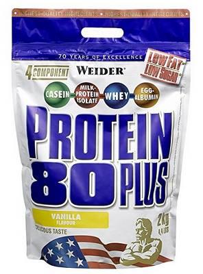 Protein 80 Plus - 2000g (2kg) - Weider