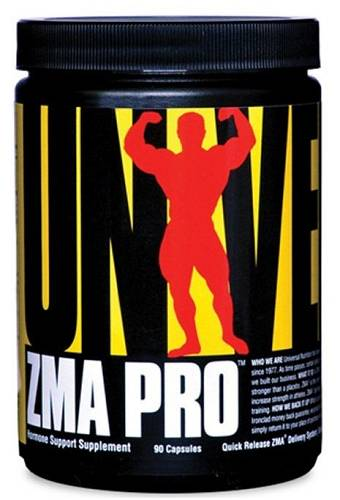 ZMA Pro - Zink-Mangesium-Aspartat - 90 Kapseln - Universal Nutrition