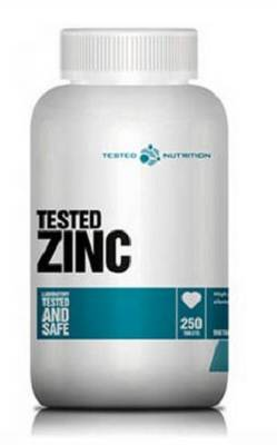 Zink (Zinkgluconat) - 250 Tabletten - Tested Nutrition