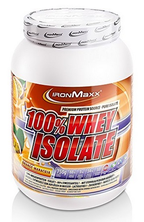 100% Whey Isolate - 750g - Ironmaxx