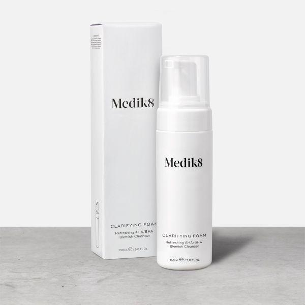 Medik8 Clarifying Foam αφρός καθαριστικό ακμή καλλυντικά
