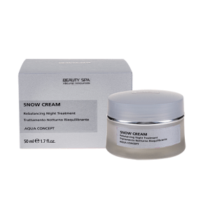 Beauty spa aqua concept snow cream κρέμα προσώπου