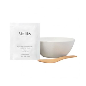 Medik8 Activated Charcoal Refining Mask Kit & Μπολ μάσκα προσώπου καλλυντικά