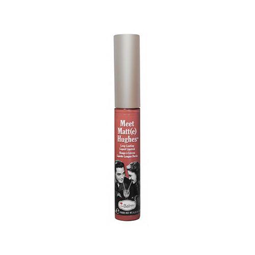 The Balm Hughes Doting Liquid Lipstick Nude Coral υγρό κραγιόν
