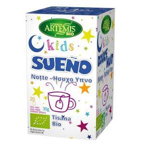 Artemis Bio Μείγμα Βοτάνων για Παιδικό Ύπνο τσάι αϋπνία