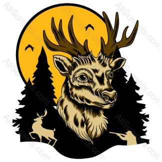 Deer Hunting Vector