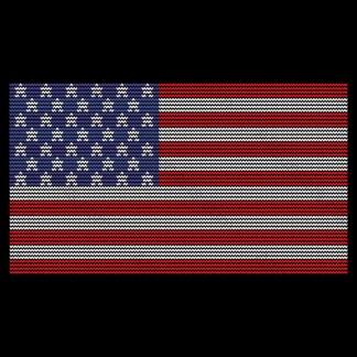 American Flag for Patriotic Tacky Party Designs