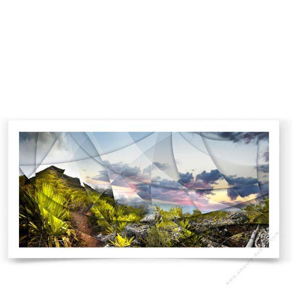 Montagne Île Maurice - Photo d'art contemporaine en édition signée