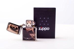 Zippo AE Tattoo-Face silber