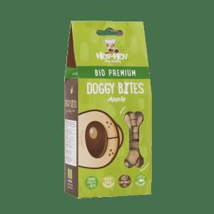 Biscuits boite pomme chien vert