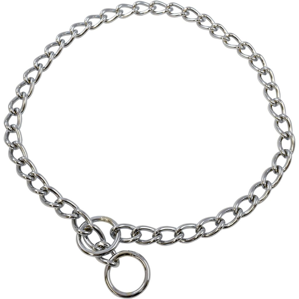 Titan Extra Heavy Chain Choke Collar 24x4mm