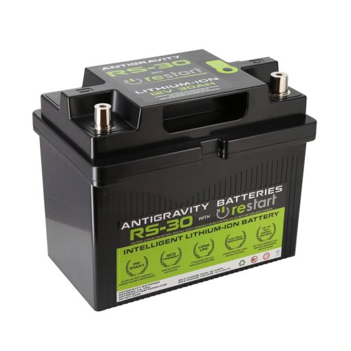 RS 30 LITHIUM ION CAR BATTERY     Antigravity Batteries RS30 Intelligent Lithium RESTART Battery