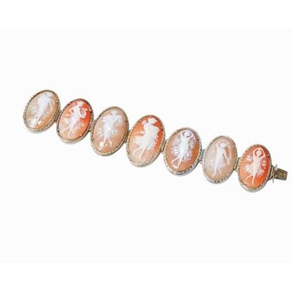 Armband mit 7 Muschelkameen