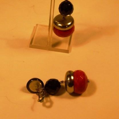 Bakelit- Ohrringe aus den 1920/30er Jahren