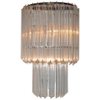 Wandlampe Kristall