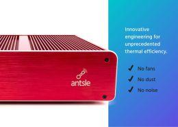 Antsle One Server Thermal Design