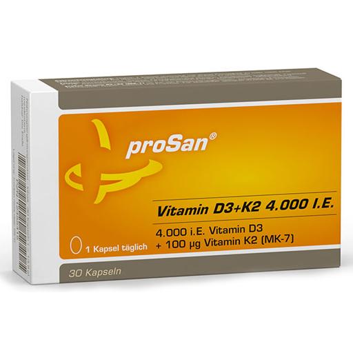 Prosan Vitamin D3 K2 4 000 I E Kapseln Apotal De Ihre Versandapotheke