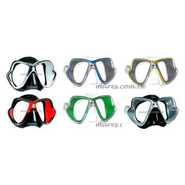 Mares-X-Vision-Liquid-Skin-多層矽膠面鏡