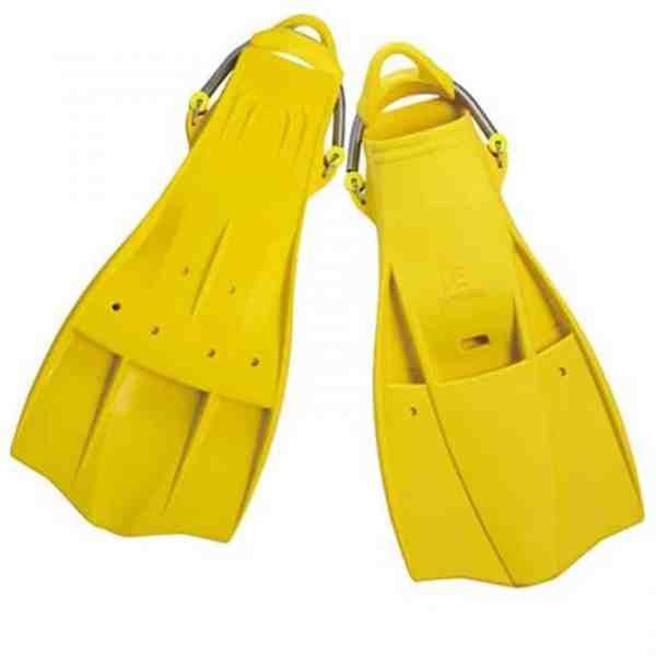 Problue-F-749-彈簧C型扣-橡膠噴射蛙鞋