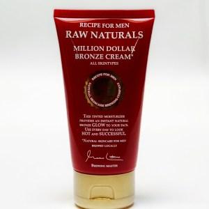 Raw Naturals Million Dollar Bronze Cream B4men Webshop