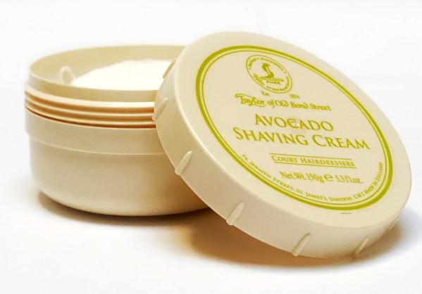 Taylor of Old Bond Street Avocado Shaving Cream B4men Webshop
