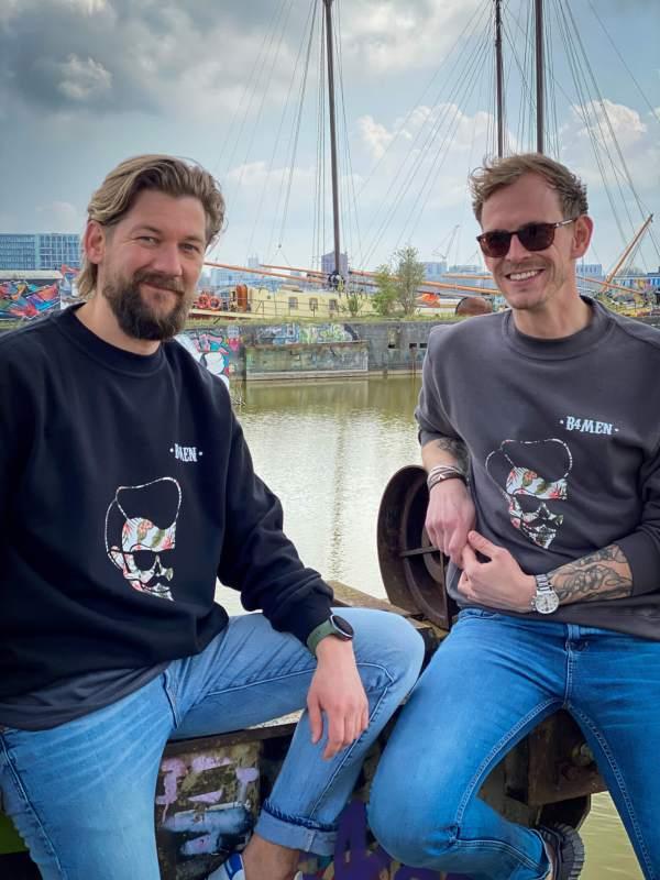 Jan Willem samen met Almar