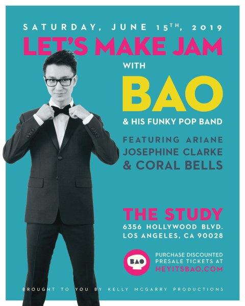 BAO concert poster