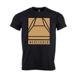 T-shirt-neues-gold-Block-gold