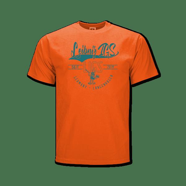 LIGS-T-Shirt_Leibniz-IGS-orange