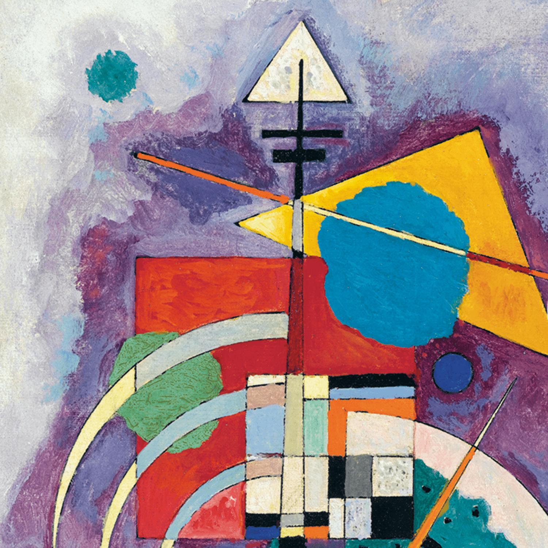 Mondrian Spiral By Richard Lazzara Abstract Art Painting