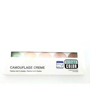 Camouflage Creme 5 Farben Set Dermacolor