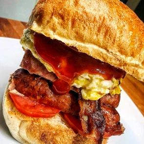 Sausage Burger - Senza Glutine