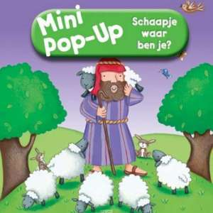 Mini pop-up schaapje waar ben je