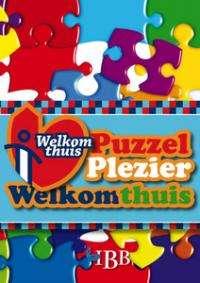 Puzzel plezier welkom thuis
