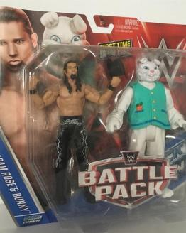 WWE Adam Rose and Bunny