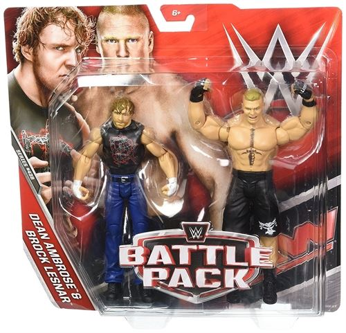 WWE Ambrose and Lesnar