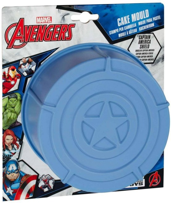 Captain America Shield Cake Mould
