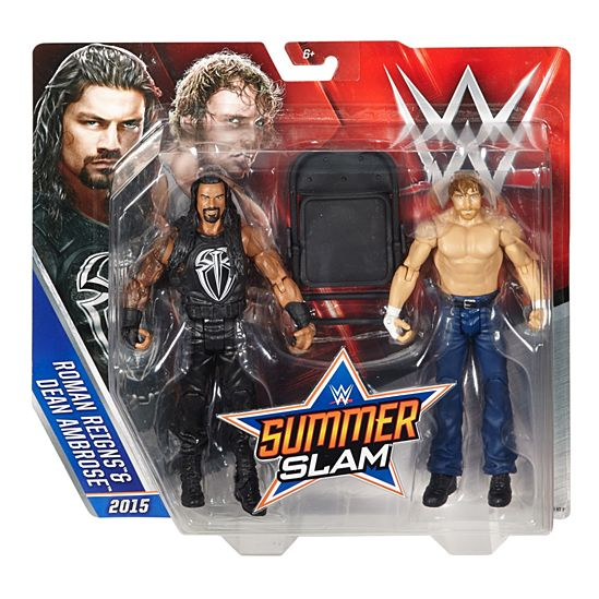 WWE Reigns and Ambrose