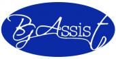 Лого на БГАсист в син цвят