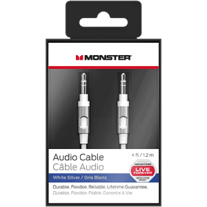 MONSTER Audio Cable 4 Foot