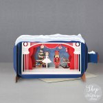 Christmas Message in a Bottle - Nutcracker