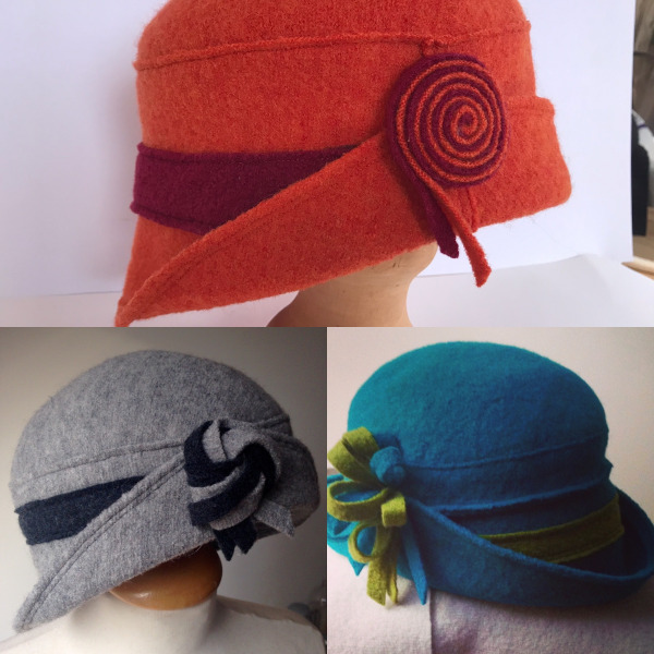 cloche style hats