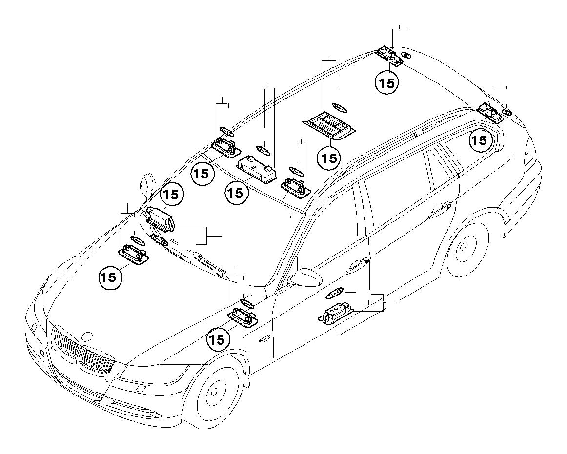 Bmw Z4 Interior Light 5w Trub