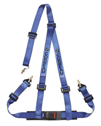 Corbeau Blue 3 Point Retractable Harness Broncograveyard