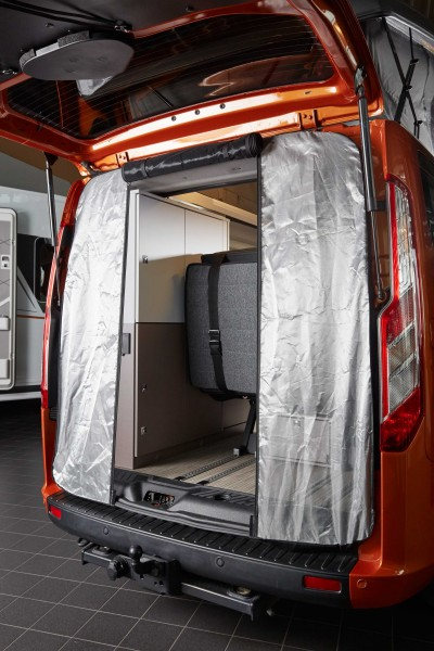moustiquaire arriere ford transit custom