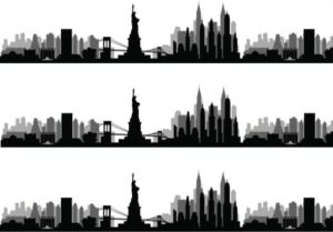 Cake Strip NYC New York Skyline