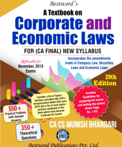 CA Final Law Book by Munish Bhandari for Nov 2019