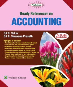 CA IPCC Accounting Book by G Sekar