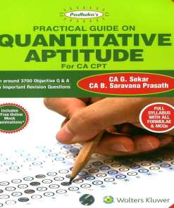 CA CPT Quantitative Aptitude by G Sekar, B Sarvana Prasath for June 2018